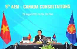 Hội nghị tham vấn về hợp tác kinh tế giữa ASEAN và Canada