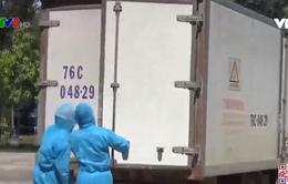 Quảng Ngãi đảm bảo xử lý rác thải trong các khu cách ly