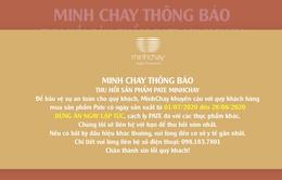Yêu cầu dừng sản xuất Minh Chay từ 20/8 nhưng 9 ngày sau mới công bố