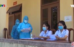 Quảng Ngãi: Sinh viên ngành y xung phong chống dịch tại khu cách ly