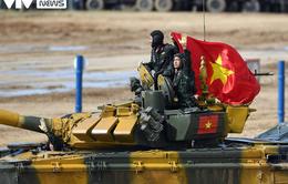[Ảnh] ĐT Xe tăng QĐND Việt Nam kiêu hùng lăn bánh vào bán kết Army Games 2020