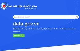 Ra mắt Cổng dữ liệu quốc gia: Đây chỉ là bước khởi đầu!