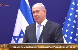Israel thông báo đàm phán với nhiều nước Arập về bình thường hóa quan hệ