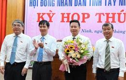 Bầu bổ sung 2 Phó Bí thư Tỉnh ủy giữ chức Chủ tịch UBND tỉnh