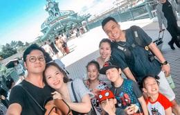 Gia đình Hồng Đăng, Đan Lê khoe ảnh đi du lịch chung