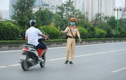 Từ ngày 5/8, chỉ 4 trường hợp cảnh sát giao thông được dừng xe