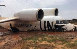 Máy bay LHQ gặp sự cố ở Mali, 11 người bị thương