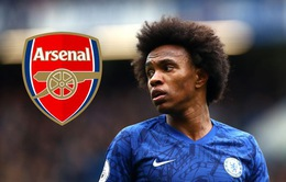 Arsenal ra đề nghị hấp dẫn, Chelsea dễ mất Willian