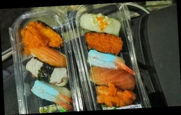 Phát hiện sushi nhiễm độc huỳnh quang ở Thái Lan