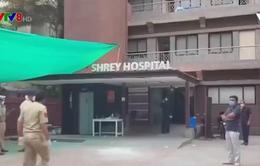 Cháy bệnh viện tại Ấn Độ
