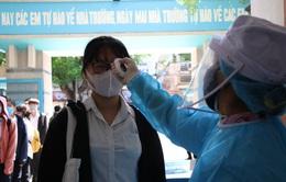 Phát hiện 48 thí sinh là F2, Quảng Ngãi dừng 1 điểm thi tốt nghiệp THPT