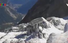 Italy nguy cơ núi băng sụp do nhiệt độ tăng