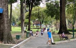TP.HCM tạm dừng hoạt động tập thể ở công viên