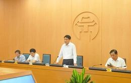 """Chủ tịch Hà Nội: """"Chạy đua với thời gian, bình tĩnh xử lý dứt điểm từng điểm dịch"""""""