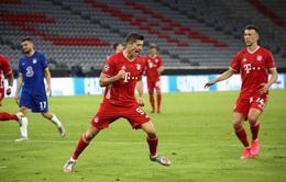 Kết quả Bayern Munich 4-1 (7-1) Chelsea: Lewandowski lập cú đúp, Bayern thắng đậm Chelsea