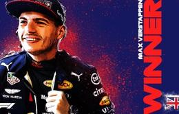 Max Verstappen vượt qua Hamilton và Bottas để chiến thắng ở GP 70 năm F1