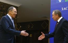 Ngoại trưởng Nga - Belarus hội đàm tại Moscow ngày 2/9