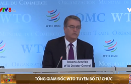 Tổng Giám đốc WTO chính thức tuyên bố từ chức