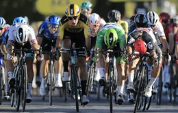 Caleb Ewan về nhất chặng 11 giải xe đạp Tour de France 2020