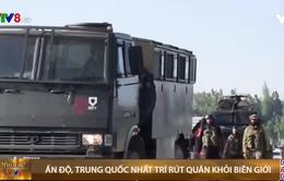Ấn Độ, Trung Quốc rút quân khỏi biên giới