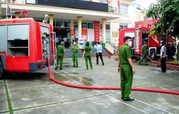 Chập điện gây hỏa hoạn tại Trung tâm Hành chính công Đông Triều (Quảng Ninh)