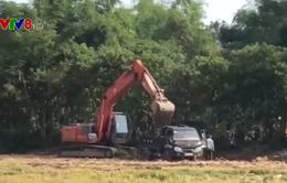 Tình trạng khai thác đất nông nghiệp trái phép tại Thừa Thiên - Huế