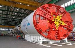 Robot đào hầm đường sắt Nhổn - Ga Hà Nội hoạt động năm sau
