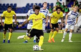 Duisburg 0-5 Dortmund: Sancho lập công