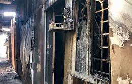 10 căn nhà trọ bị thiêu rụi trong đêm sau tiếng nổ lớn
