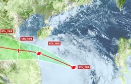 Ngày 18/9, bão số 5 giật cấp 14 vào Quảng Bình - Quảng Nam