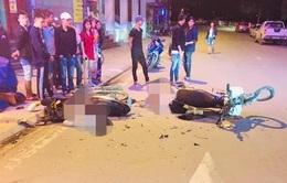 Xe máy tông nhau, hai nam thanh niên tử vong