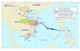 Bão số 5 giật cấp 12, gây mưa lớn từ Hà Tĩnh đến Quảng Ngãi