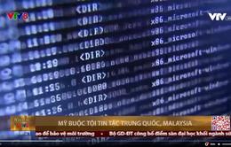 Mỹ cáo buộc 5 tin tặc Trung Quốc và Malaysia tấn công hàng trăm mục tiêu