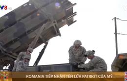 Romania tiếp nhận tên lửa Patriot của Mỹ