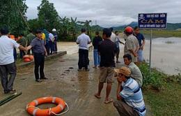 Tìm thấy thi thể thanh niên bị nước lũ cuốn trôi ở Hà Tĩnh