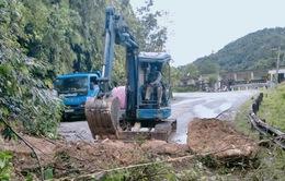 Đầu tư hơn 140 tỷ đồng nâng cấp quốc lộ 8A sau mưa lũ