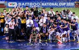 Khoảnh khắc CLB Hà Nội đăng quang chức vô địch Cúp Quốc gia 2020
