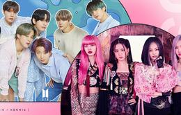 BTS dẫn đầu BXH Billboard mới, BLACKPINK tụt hạng