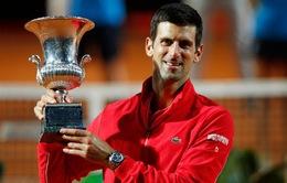 Djokovic vượt qua Nadal để trở thành tay vợt có nhiều chức vô địch Masters 1000 nhất lịch sử