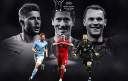 Cầu thủ xuất sắc nhất châu Âu 2020: Không có Ronaldo và Messi