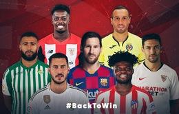 Lịch thi đấu vòng 3 La Liga: Real làm khách trước Betis, Barca đón tiếp Villarreal