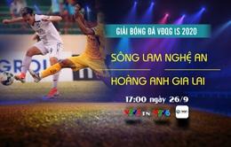 Sông Lam Nghệ An – Hoàng Anh Gia Lai: Khách quyết giành điểm! (17h hôm nay, 26/9 trên VTV5TN, VTV6)
