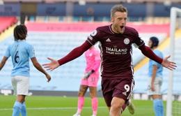 Kết quả Man City 2-5 Leicester City: Vardy lập hat-trick, Leicester thắng đậm ngay tại Etihad