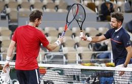 Thắng áp đảo Andy Murray, Stan Wawrinka vào vòng 2 Pháp mở rộng 2020