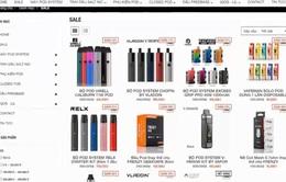 Quảng cáo thuốc lá điện tử trên mạng xã hội: Cấm nhưng vẫn làm