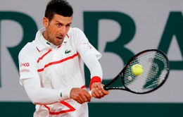 Novak Djokovic nhẹ nhàng vào vòng 2 Pháp mở rộng 2020