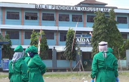 Indonesia phát hiện ổ dịch mới gần 800 ca tại trường nội trú