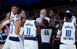 NBA ra án phạt sau vụ xô xát tại game 6 series L.A Clippers - Dallas Mavericks