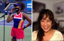 Mẹ của Naomi Osaka gây bất ngờ cho con gái ngay sau trận đấu
