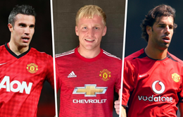 12 cầu thủ Hà Lan từng gia nhập Man Utd